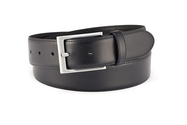 Polo leather stitched belt