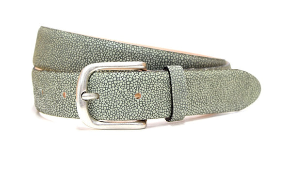 Tealeaf green Razza belt