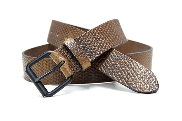 Kaizer leather belt