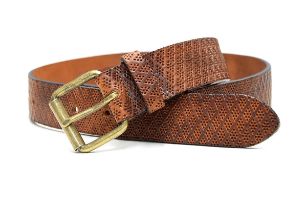 Soho leather belt tan