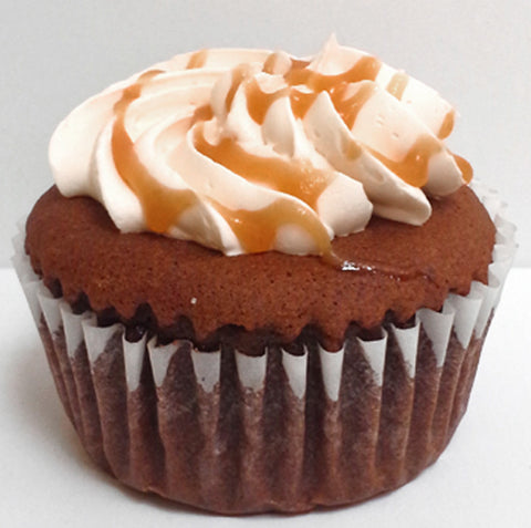 Chocolate Salted Caramel Cupcake DR