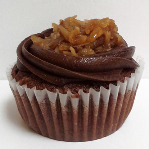 German Chocolate Cupcake DR