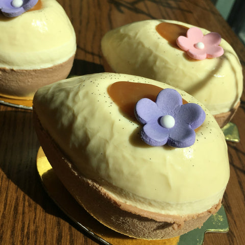 Bavarian Cream Easter Eggs - Falls Church