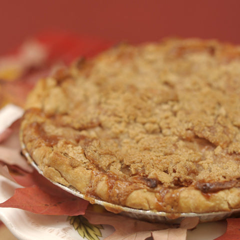 Apple Sour Cream Pie DR