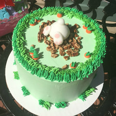 Bunny Carrot Cake Falls Church