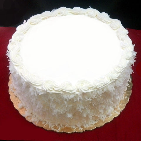 Lemon Coconut Cake DR
