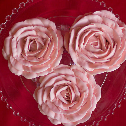 6 pack of Rose Cupcakes DR