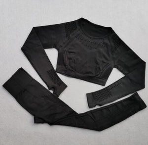 2 Pcs Workout Clothes - Golden Hart