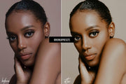 10 DARK SKIN LIGHTROOM MOBILE PRESETS