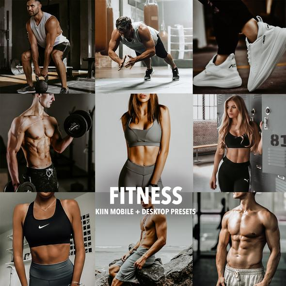 7 FITNESS LIGHTROOM MOBILE & DESKTOP PRESETS