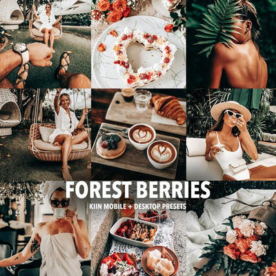 FOREST BERRIES LIGHTROOM MOBILE & DESKTOP PRESETS