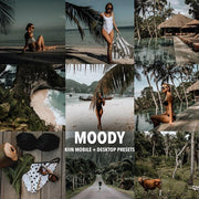MOODY LIGHTROOM MOBILE & DESKTOP PRESETS