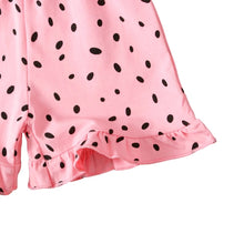 Load image into Gallery viewer, Pink Dalmatian Jumpsuit
