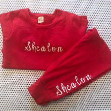 Load image into Gallery viewer, Personalised Bright Loungewear (5 Colours)