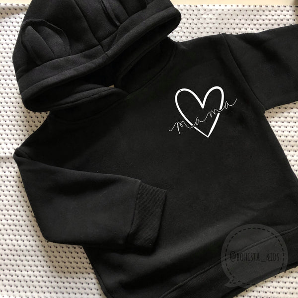 Adults Personalised Bear Hoodie