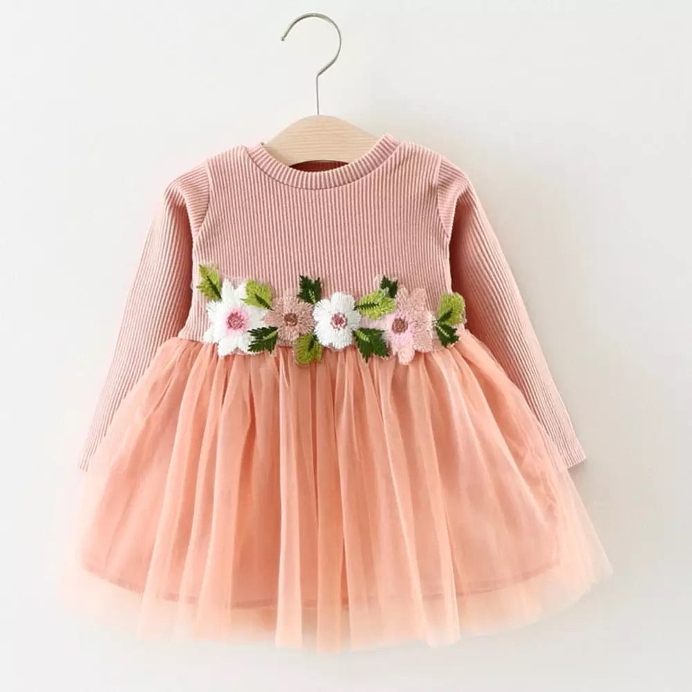 Flower Tutu Dress (3 colours)