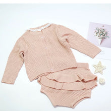 Load image into Gallery viewer, Knitted Bloomer Set (2 colours)