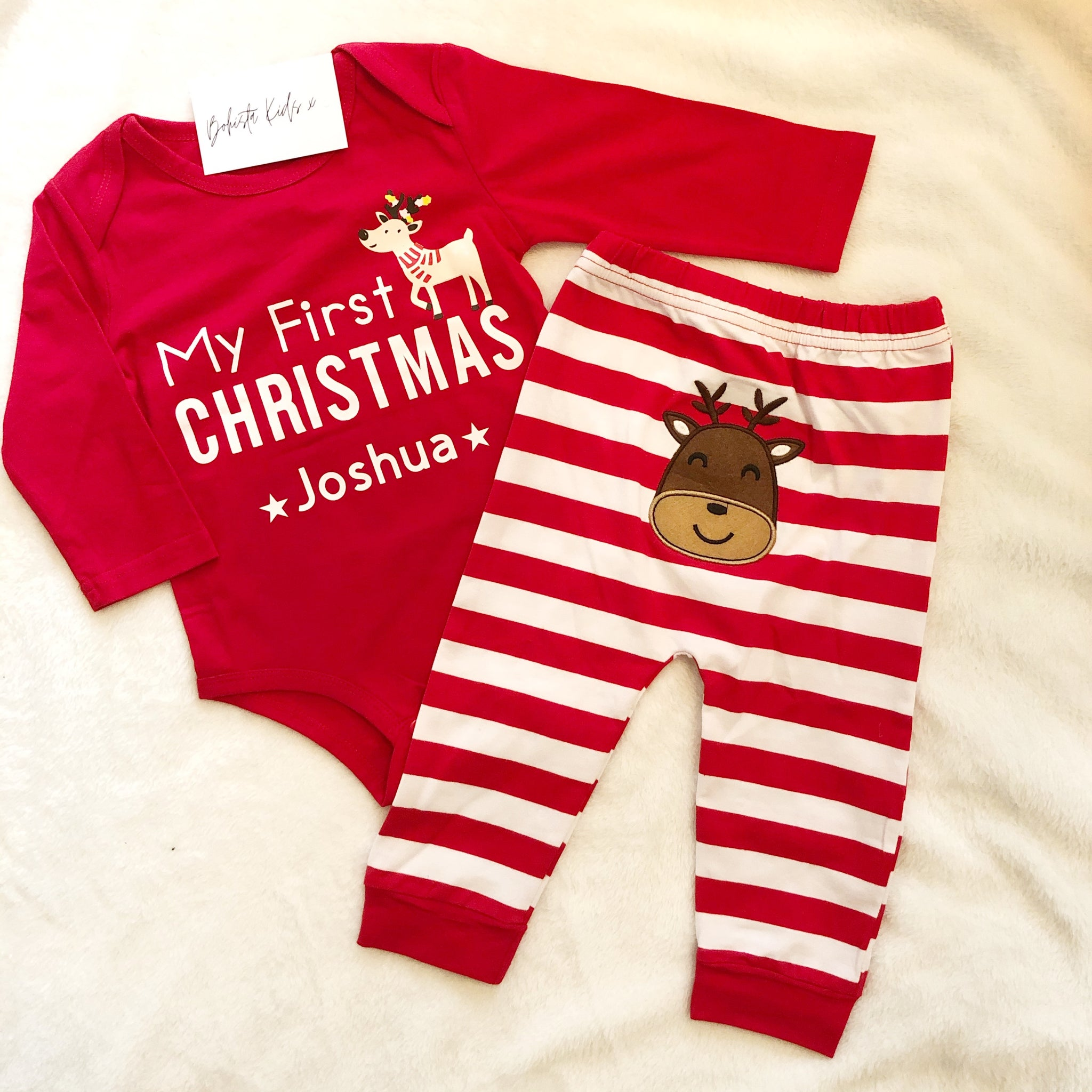 My First Christmas Personalised Set
