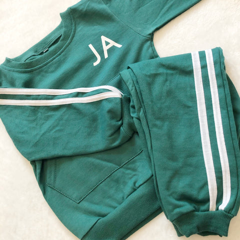 Personalised Tommy Tracksuit - Green
