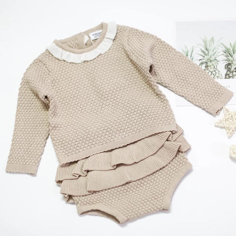 Knitted Bloomer Set (2 colours)