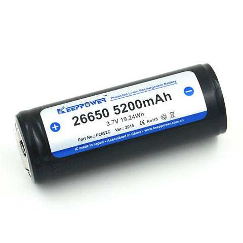 KeepPower 5200 MAH LI-ION Akku (1 Stk)