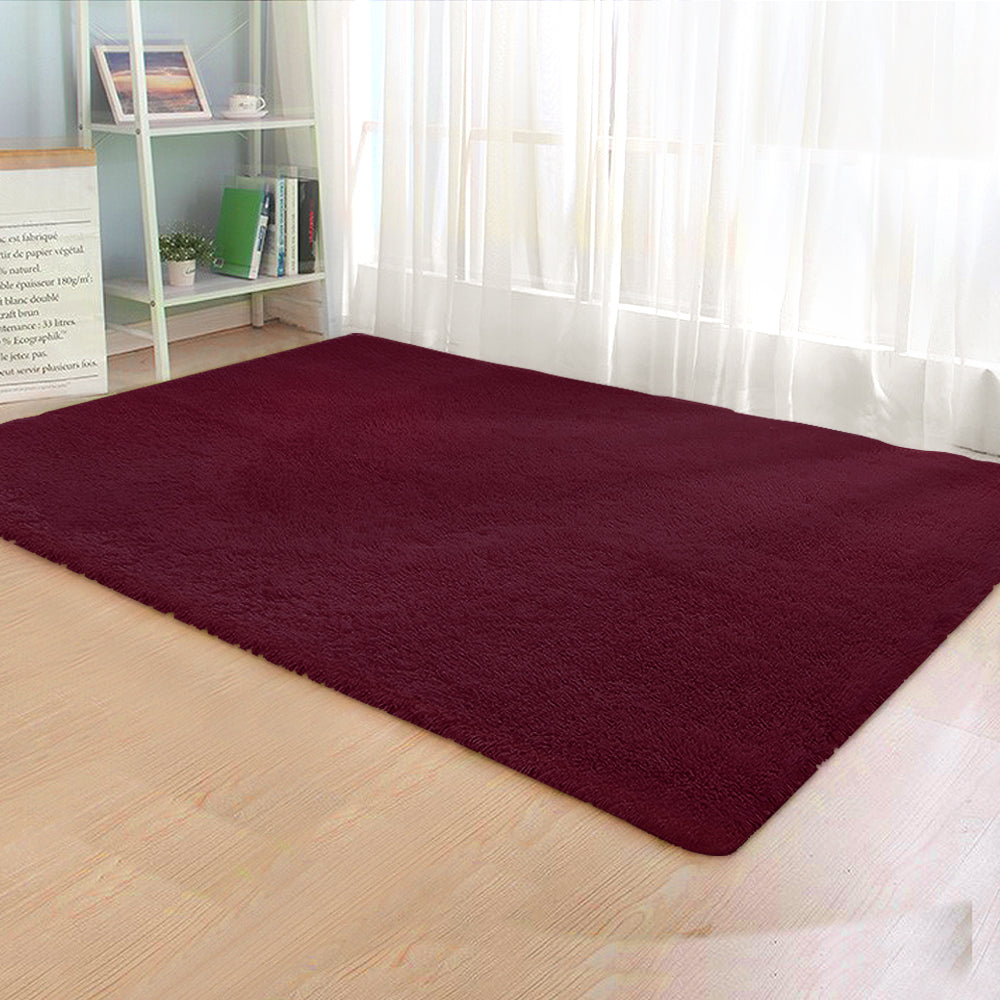 Artiss Floor Rugs Ultra Soft Shaggy Rug Mat 160 x 230 Large Carpet Living Room