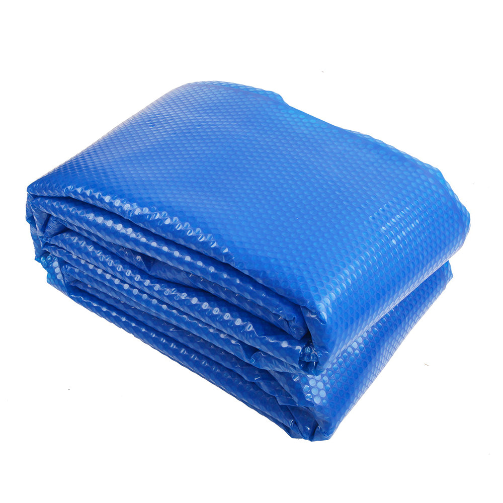 8M X 4.2M Solar Swimming Pool Cover 400 Micron Outdoor Bubble Blanket