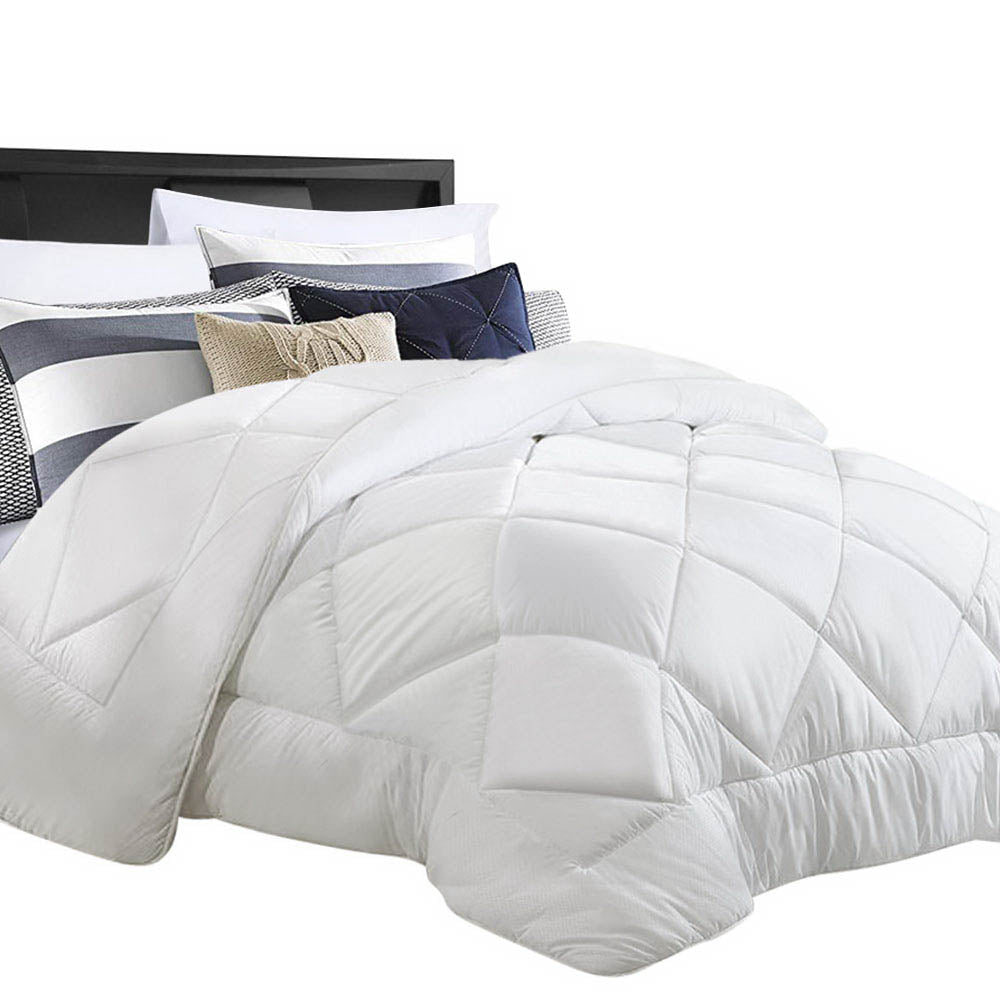 Bamboo Microfiber Microfibre Quilt Duvet Cover Doona Winter King