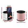 5km 0.15J Solar Electric Fence Energiser Energizer Charger with 400M Tape