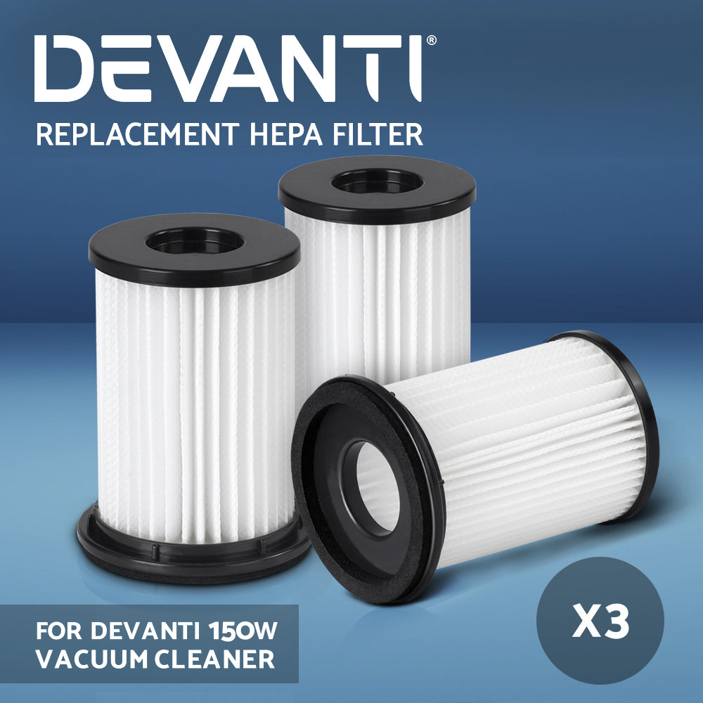 Set of 3 Replacement HEPA Filter