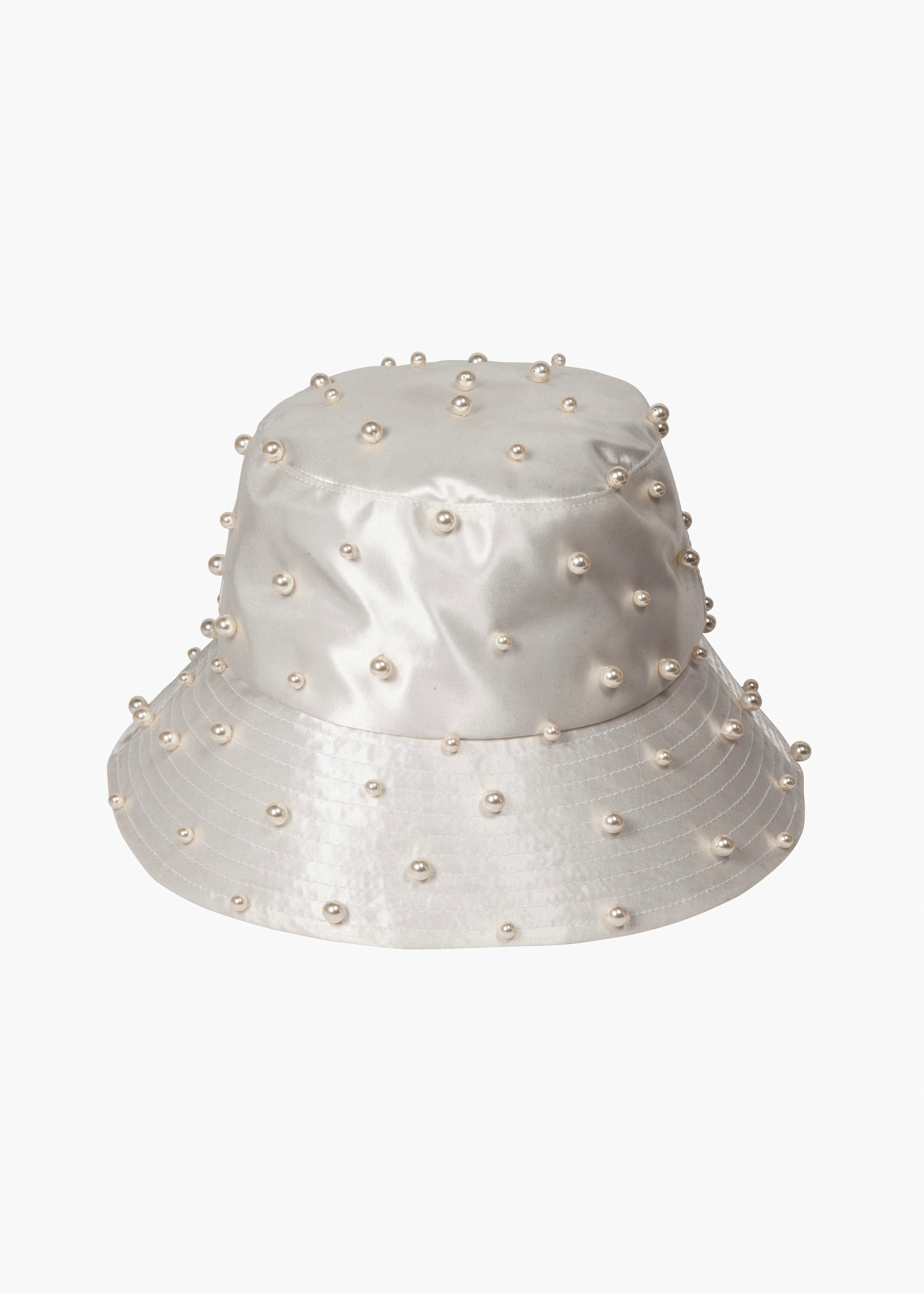 Mallorie Pearled Bucket Hat