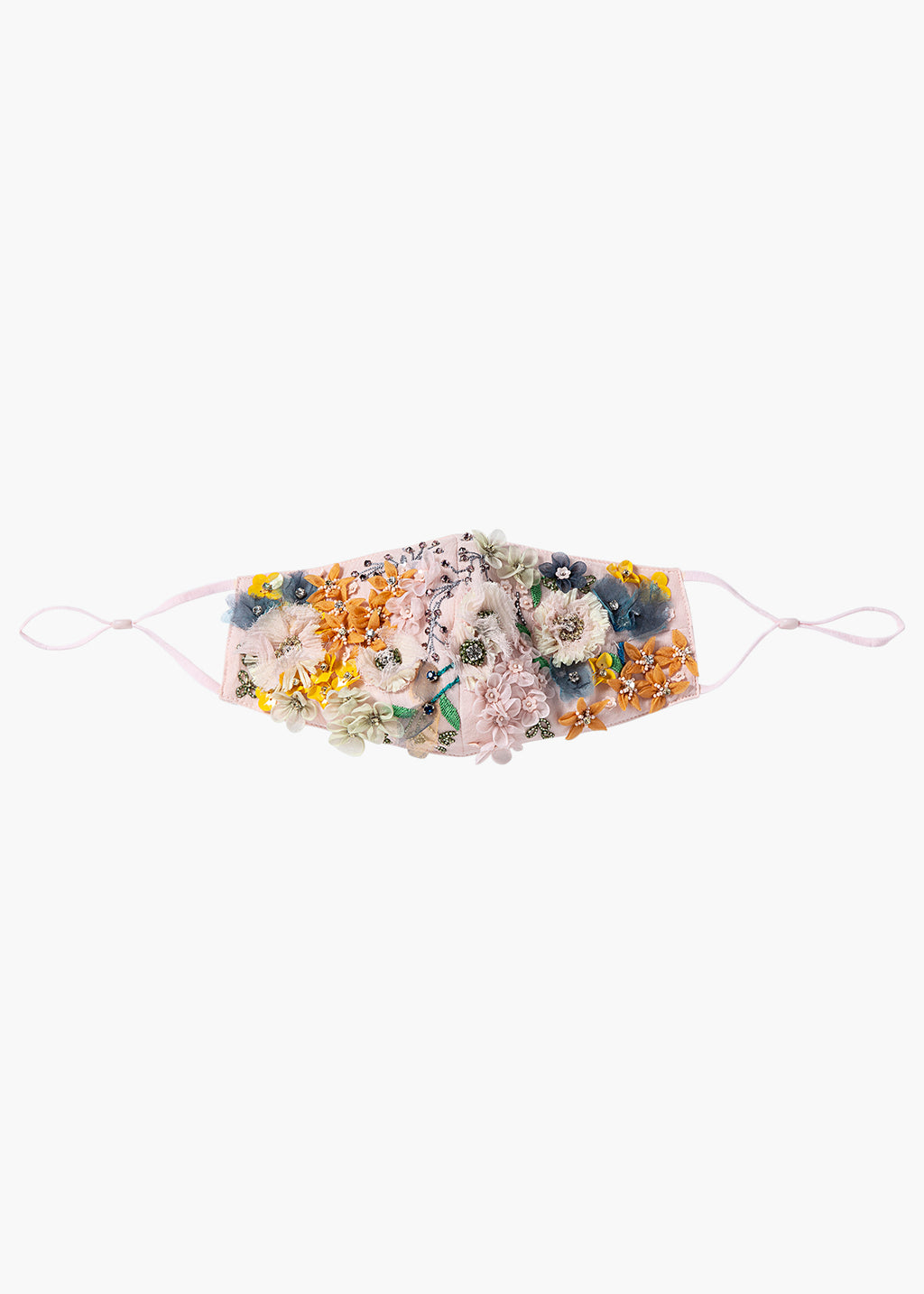 Embroidered Meadow Mask