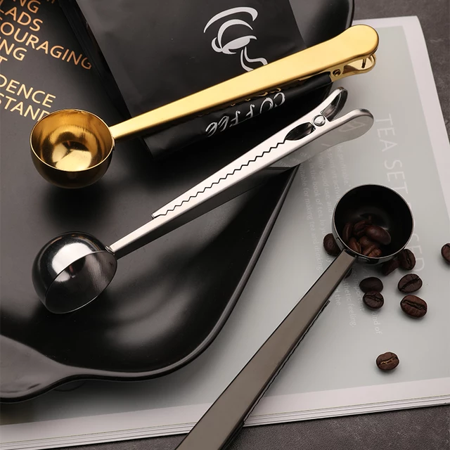 2-in-1 Coffee/Tea Scoop with Clip