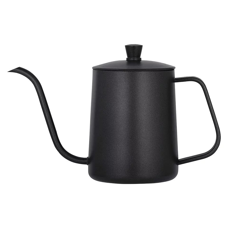pour over gooseneck kettle rustic kettle matte black kettle water kettle coffee kettle stainless steel