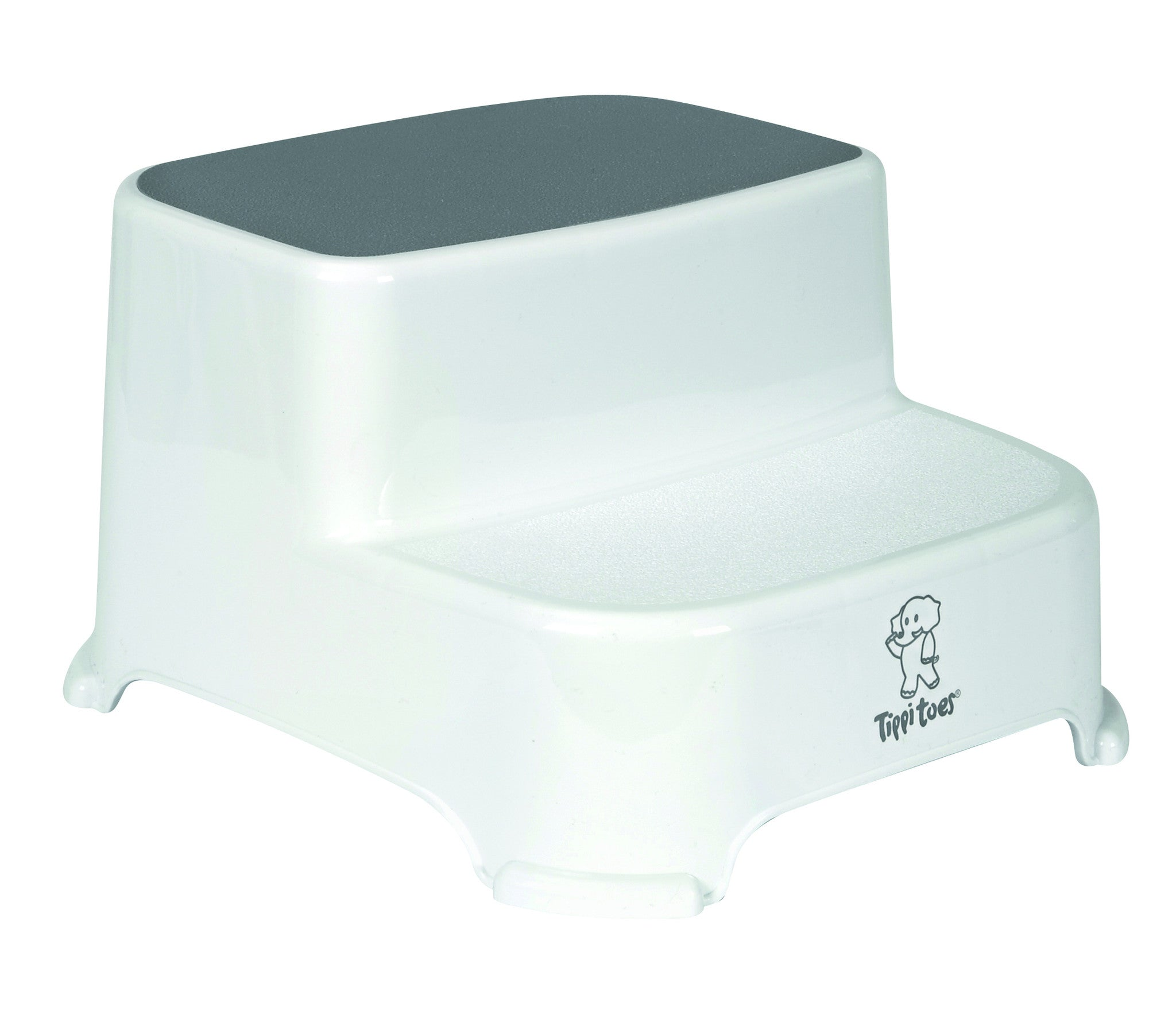 Tippitoes Double Step Up Stool - Grey - buybaby.co.uk  sc 1 st  Tippitoes & Tippitoes Double Step Up Stool - Grey - buybaby islam-shia.org
