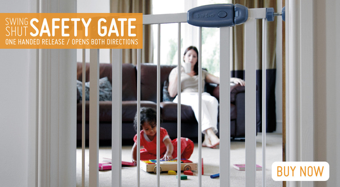 Swing Shut Child Safety Gate