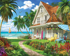 White Mountain Jigsaw Puzzle BEACH PATH 1000pc