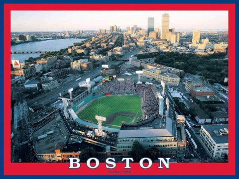 White Mountain Jigsaw Puzzle Fenway Park Boston Red Sox 550pc