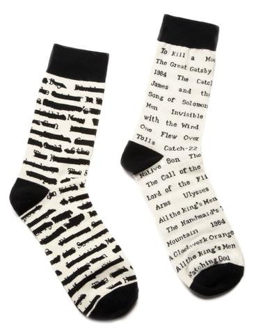 Out of Print Socks