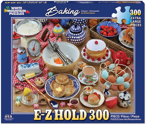 White Mountain Puzzles BAKING 300 Pieces