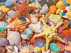 White Mountain Jigsaw Puzzle Beach Shells 550pc