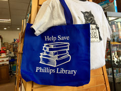 Help Save Phillips Library Tote