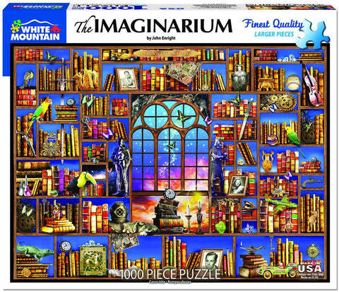 White Mountain Jigsaw Puzzle Imaginarium 1000pc