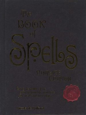 The Book of Spells Vintage Edition