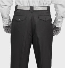 Men's Scully Black Pearl Snap Western Pants Trousers 44 - Bombshell Bettys Vintage