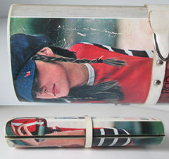 vintage 1970's robert redford magazine clutch purse handbag bottom