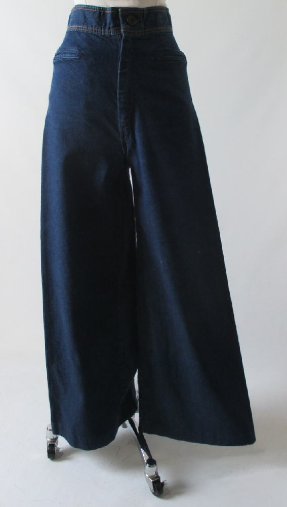 70's vintage high waist wide leg levis jeans gallery