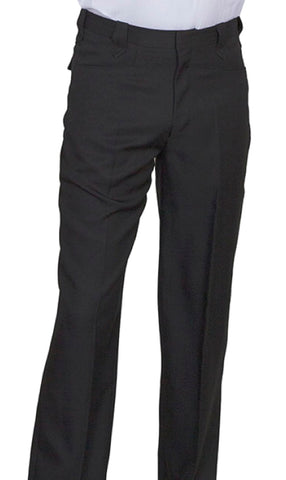 Men's Scully Black Pearl Snap Western Pants Trousers 44