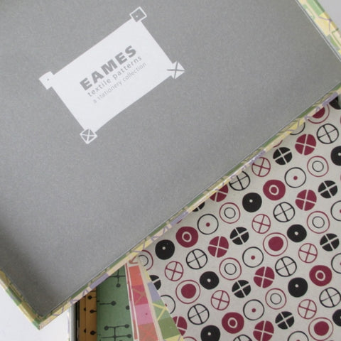 Eames Textile Patterns: A Stationery Collection