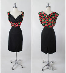 Lindy Bop 50's Look Dorelia Red Berry Top Plus 22 4XL - Bombshell Bettys Vintage